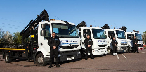 Fleet of recovery trucks Car & Van Recovery Services